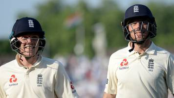pint-sized tms: england v pakistan - england rally to hold slender lead