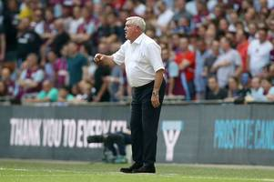 'i will carry on' - steve bruce vows to finish the job at aston villa