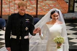 Meghan Markle and Prince Harry's wedding table names show their hilarious sense of humour