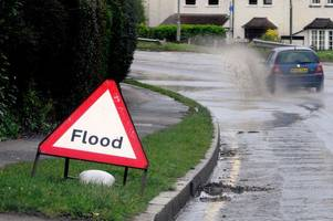 croydon flooding fears as met office warns of severe weather and storms across south east