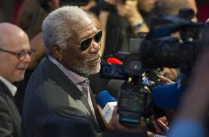 i did not offer employment or advancement in exchange for sex: morgan freeman