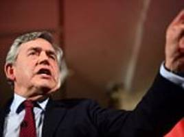 gordon brown to re-enter brexit debate to join demands for a second referendum
