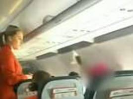 queensland woman is hauled off a jetstar flight after she began 'screaming at fellow passengers'