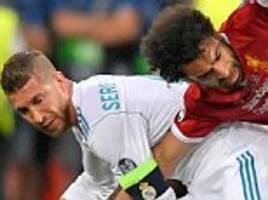 'sergio ramos injured mohamed salah intentionally', claims ahmed mido