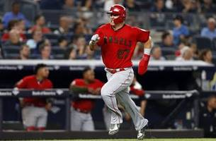 mike trout has career night in angels rout over yankees