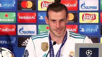 Gareth Bale on his Champions League final goal for Real Madrid