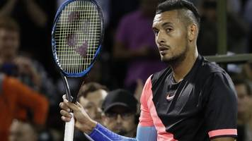 kyrgios withdraws from french open with an elbow injury