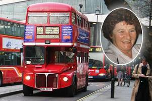Derby's first female bus driver gets fitting double-decker send-off