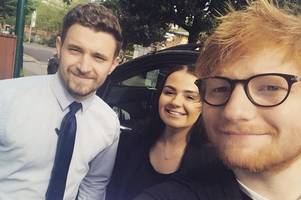 surprise for swansea hotel staff as 'unknown guest' turns out to be ed sheeran