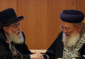 j'lem chief rabbis call for end to cinema, theater on shabbat in capital