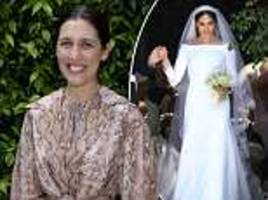 emilia wickstead backtracks on her remarks about meghan's £200,000 givenchy gown