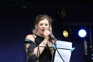 watch manchester bombing survivor open derbyshire festival with moving tribute