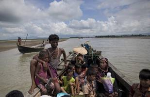 'our families would be killed': rohingya brace for monsoon