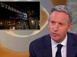 starbucks ceo defends closing 8000 stores for 'race training'