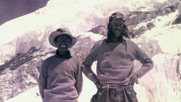 the 65th anniversary of the first documented summit of mount everest - sir edmund hillary and tenzing norgay's 1953 expedition totaled over 400 people and 10,000 pounds of baggage.