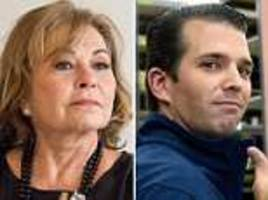 donald trump jr. retweets roseanne barr's anti-semitic tweets
