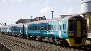 llanelli to carmarthen trains delayed as person hit