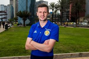 rangers star jamie murphy reveals steven gerrard phone call as he admits he never thought about leaving