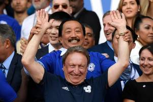 cardiff city boss neil warnock in malaysia for talks with vincent tan as big news set to be announced next week
