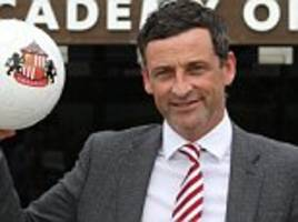 New Sunderland boss Jack Ross targets instant return to Championship