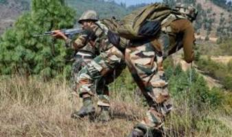 two unidentified terrorists killed during gunfight in j&k