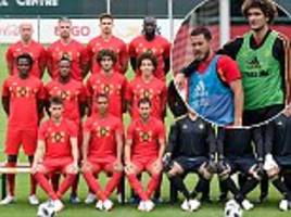 belgium complete preparations for world cup warm-up friendly against egypt without vincent kompany