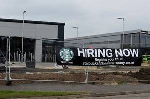 you could serve coffee at gloucestershire's newest starbucks