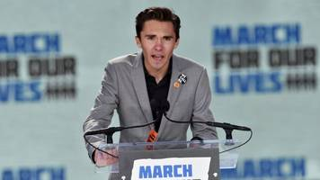 parkland teenager david hogg 'swatted' in prank call