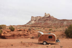 teardrop travelin': exploring blm land in the woodside teardrop trailer - just get out there and do it.