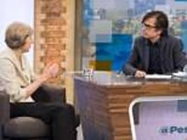 robert peston political show moved to itv midweek slot after losing out on ratings to andrew marr