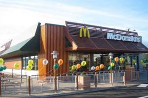 builders to move in to create new mcdonalds and starbucks near boston