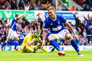 the derby county, peterborough united and ipswich town strikers bristol city could sign this summer