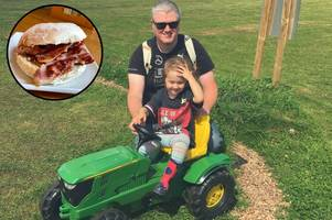 farm's father's day event will have 'dad olympics' and free bacon butties!