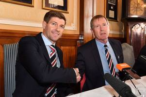 steven gerrard must establish a bond with rangers board as well as his players says ally mccoist