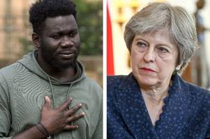 theresa may ignored letters asking her to reconsider deporting denzel darku while home secretary