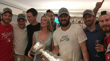 watch: alex ovechkin, capitals party around washington, d.c. with stanley cup