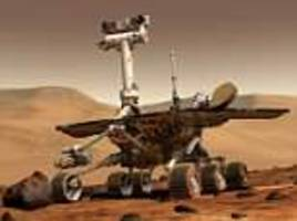 nasa's opportunity rover hunkers down in martian dust storm said to be the worst in over a decade