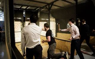 axe-throwing after work anyone? whistle punks is coming to central london