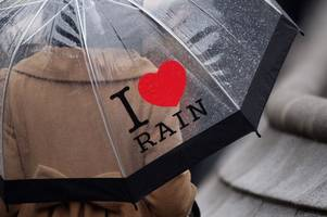 when to expect rain storms to hit as weather warning issued for nottingham