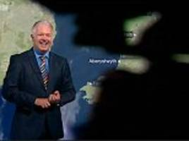 bbc cameraman becomes accidental star of weather report after blocking the presenter
