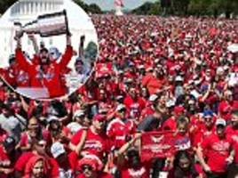 Washington Capitals enjoy victory parade as they celebrate their first ever Stanley Cup success