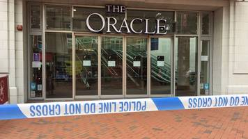 reading shopping centre evacuated over suspicious item find