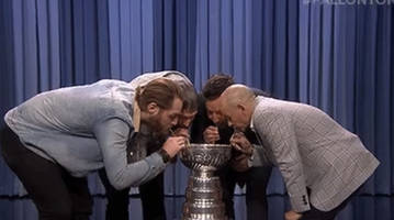 watch: jimmy fallon drinks out of stanley cup with alex ovechkin, braden holtby