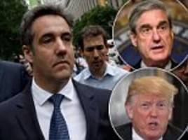 ex trump lawyer michael cohen may cooperate with prosecutors
