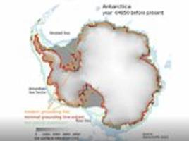 shrinking ice sheet in the west antarctic made a 'surprising comeback' 10,000 years ago