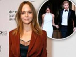 stella mccartney says meghan's gown was last chance to reflect 'joy'