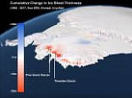 global warming is causing antarctic ice to melt three times faster