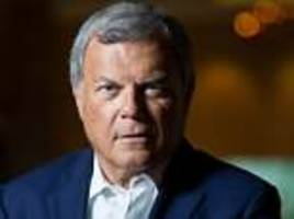 wpp shareholders fail to back sir martin sorrell's £19m pay-off