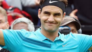 Mercedes Cup: Roger Federer beats Mischa Zverev on return to tennis