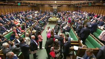 SNP MPs walk out of Prime Minister's Questions